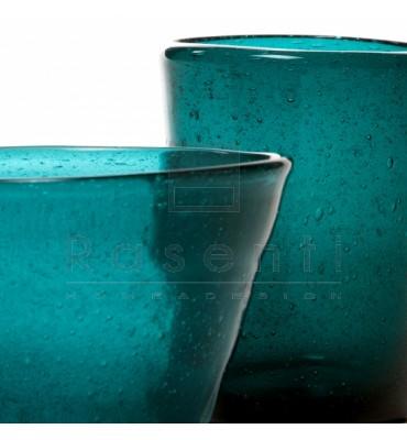 MEMENTO - glass Petrol