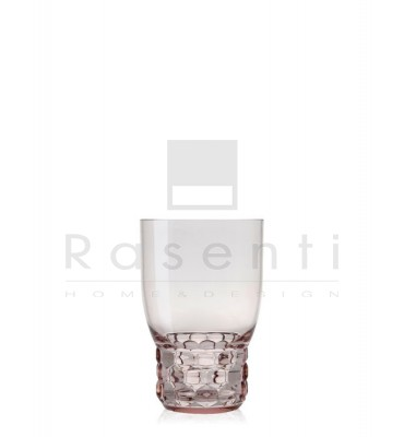 KARTELL - bicchiere Jellies Family set 4 rosa
