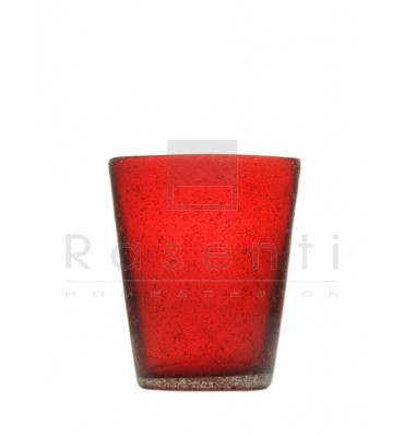 MEMENTO - glass Red