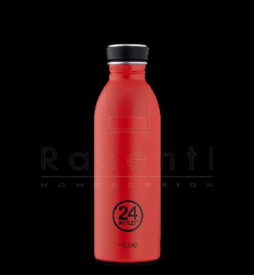 24 BOTTLES - URBAN BOTTLE Hot Red Stone