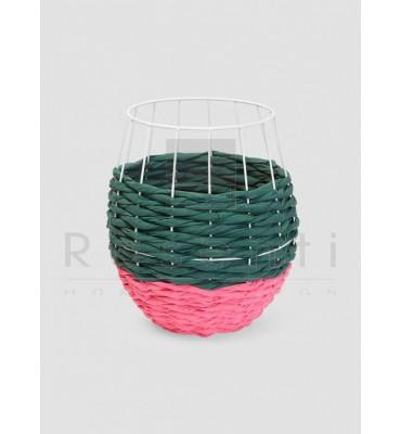 Serax Basket Marie Fuxia