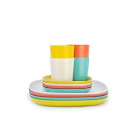 LUNCH SET EKOBO - set piatti e bicchieri