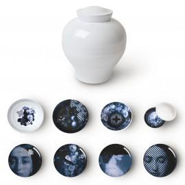 Ibride Servizio da tavola Yuan Osorio - / Set 8 elementi impilabili
