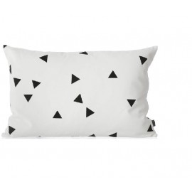 FERM - MINI TRIANGLE cushion black