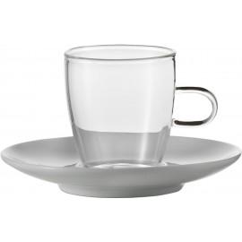 JENAER GLAS - CONCEPT COFFEE set tazza espresso 2 p.