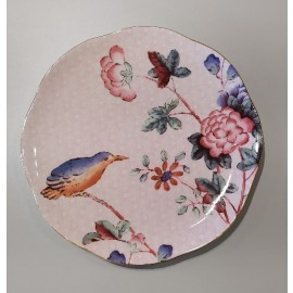 WEDGWOOD - CUCKOO TEA STORY piatto dolce pink