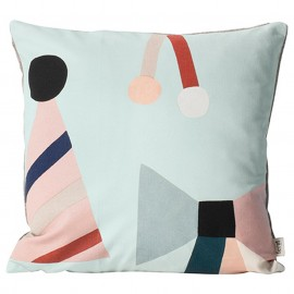FERM - PARTY cushion mint
