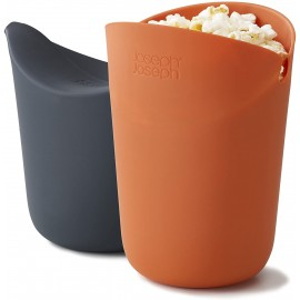 Joseph Joseph Set per Popcorn da Microonde in Silicone
