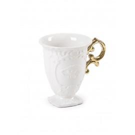 SELETTI - I WARES GOLD tazza mug