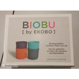 BIOBU BY EKOBO - Set 4 tazze