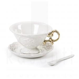 SELETTI I-WARES TAZZA TEA GOLD