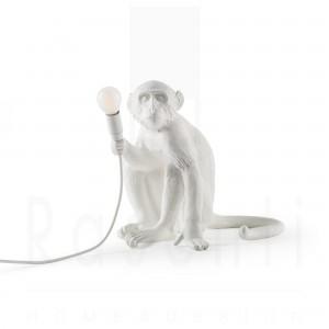 SELETTI MONKEY SITTING LAMPADA