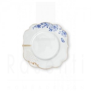 PIP STUDIO - ROYAL WHITE piatto frutta 23.5 cm.